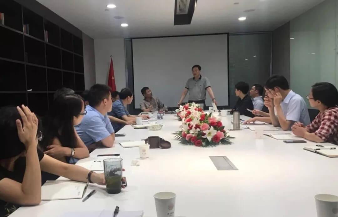 王小军主任调研指导绍兴分所一体化管理工作