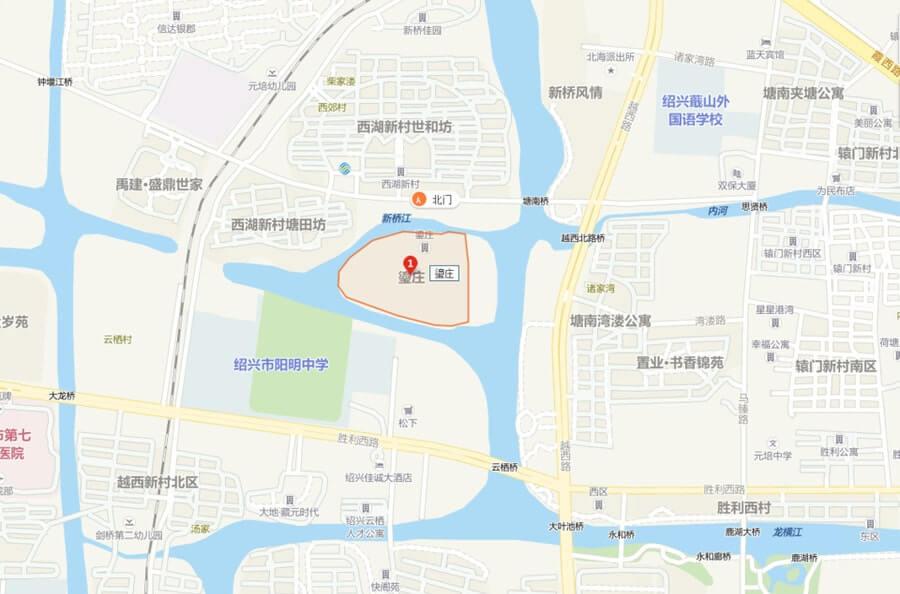 绍兴法拍房:绍兴市越城区瑬庄17幢二单元1室的房地产