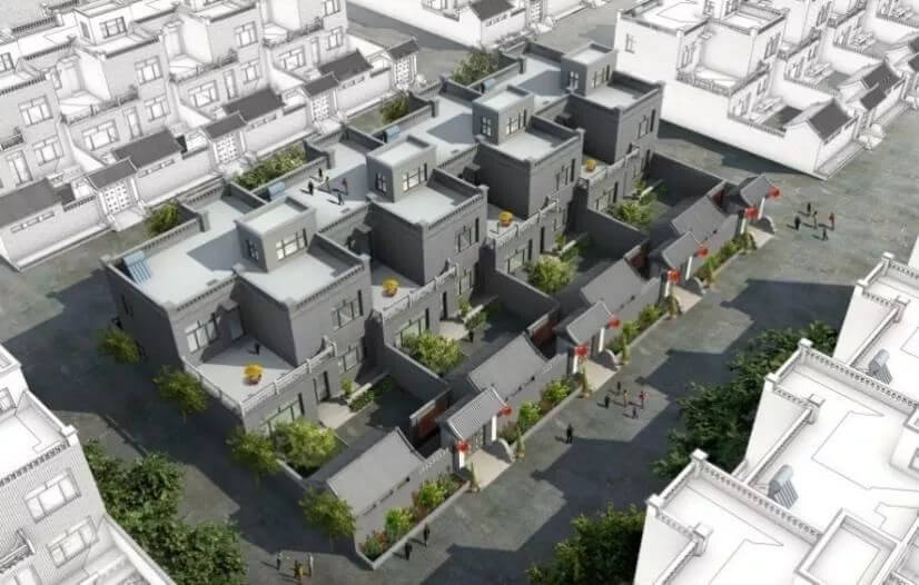 农村住房建设试点启动,政府统一规划建房