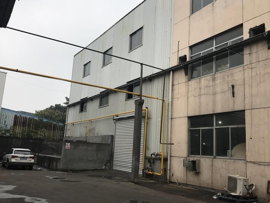 绍兴袍江厂房拍卖:浙江宏健纺织有限公司位于袍江工业区荷湖路以北的工业房地产