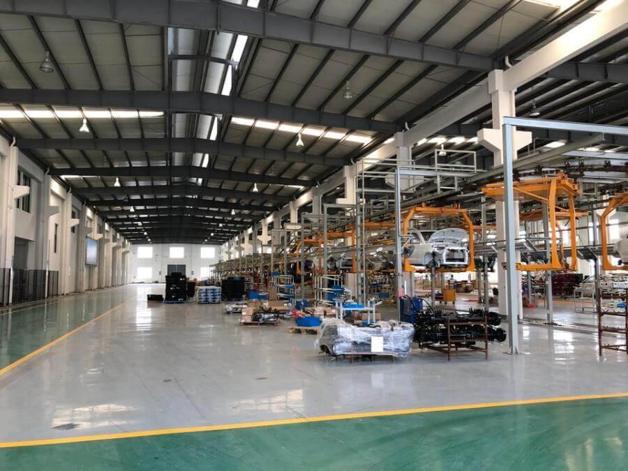 绍兴上虞厂房拍卖:浙江约特工具有限公司位于杭州湾上虞经济技术开发区东一区的土地及不动产