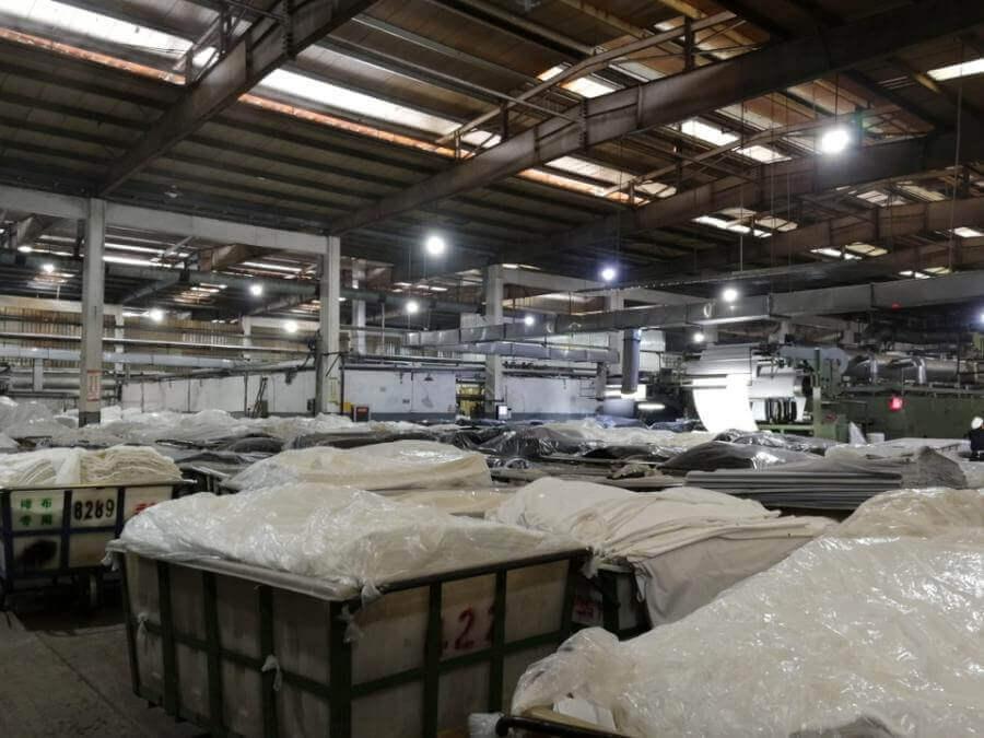 浙江富丽达染整有限公司位于杭州市萧山临江工业园区的工业房地产